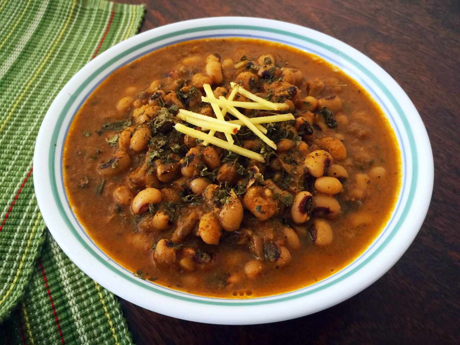 Black Eyed Beans Curry